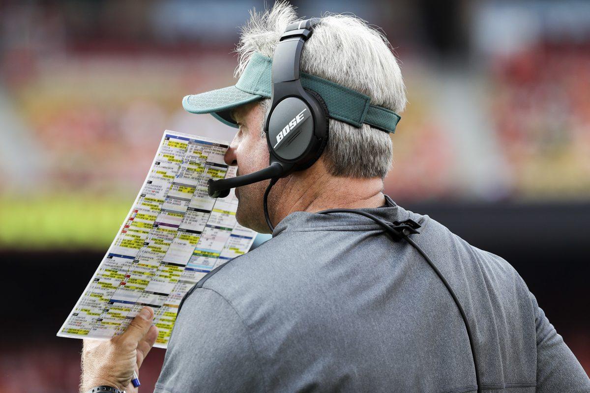 Eagles coach Doug Pederson