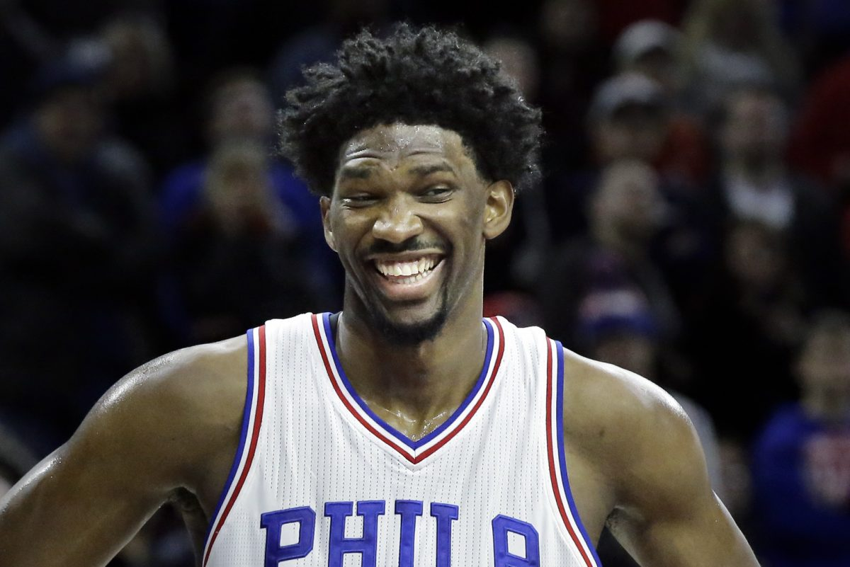Joel Embiid had some fun at the expense of Kevin Durant on Twitter Monday.