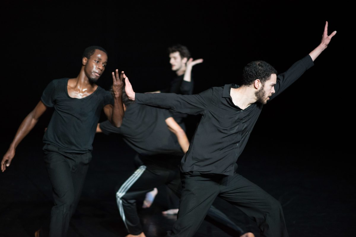 """A Love Supreme,"" a piece for four dancers inspired by the John Coltrane album, plays the Fringe Fest for three performances this weekend."