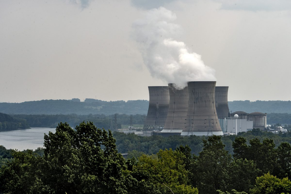 The Three Mile Island  nuclear power plant in Middletown, Pa.