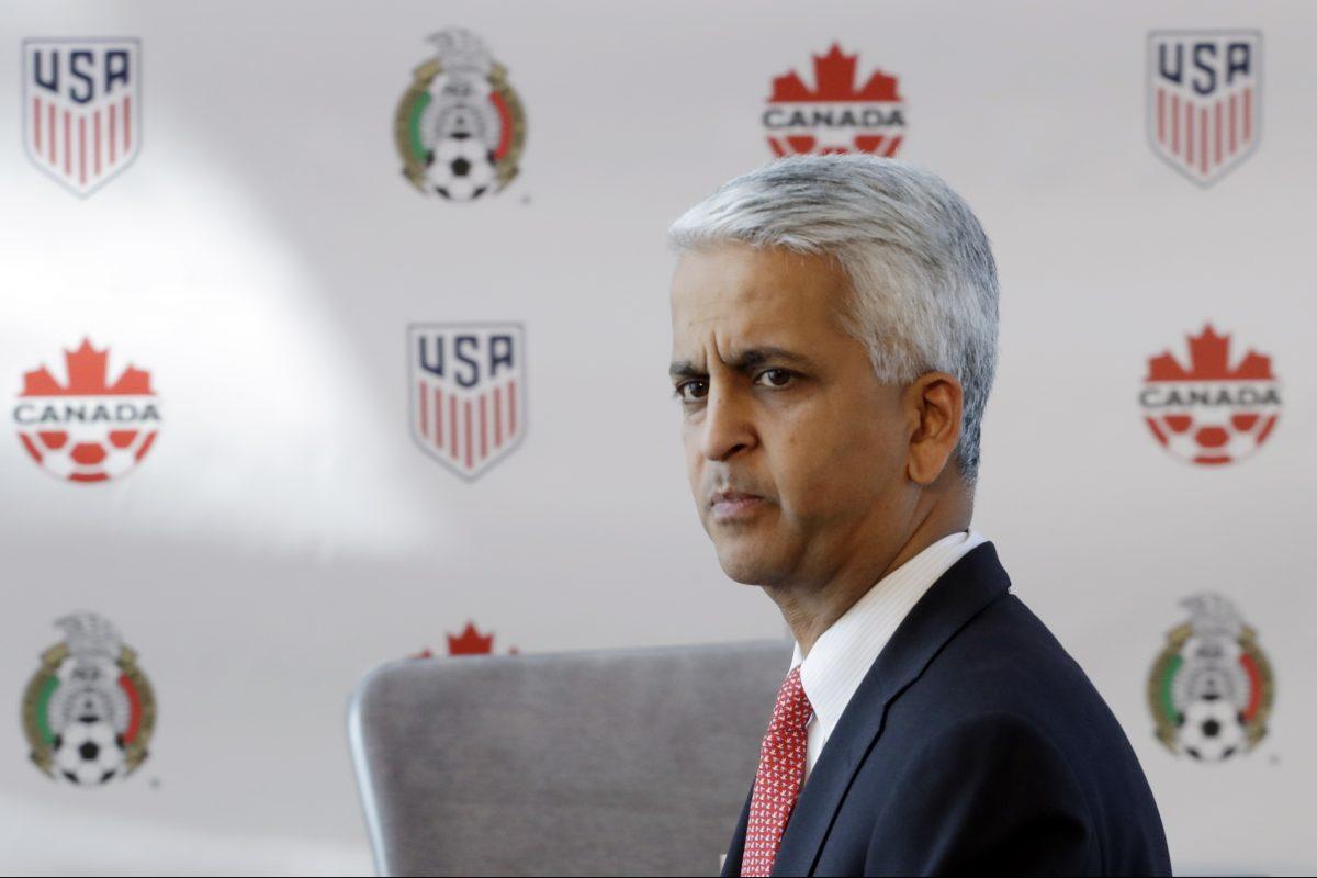 U.S. Soccer Federation president Sunil Gulati.