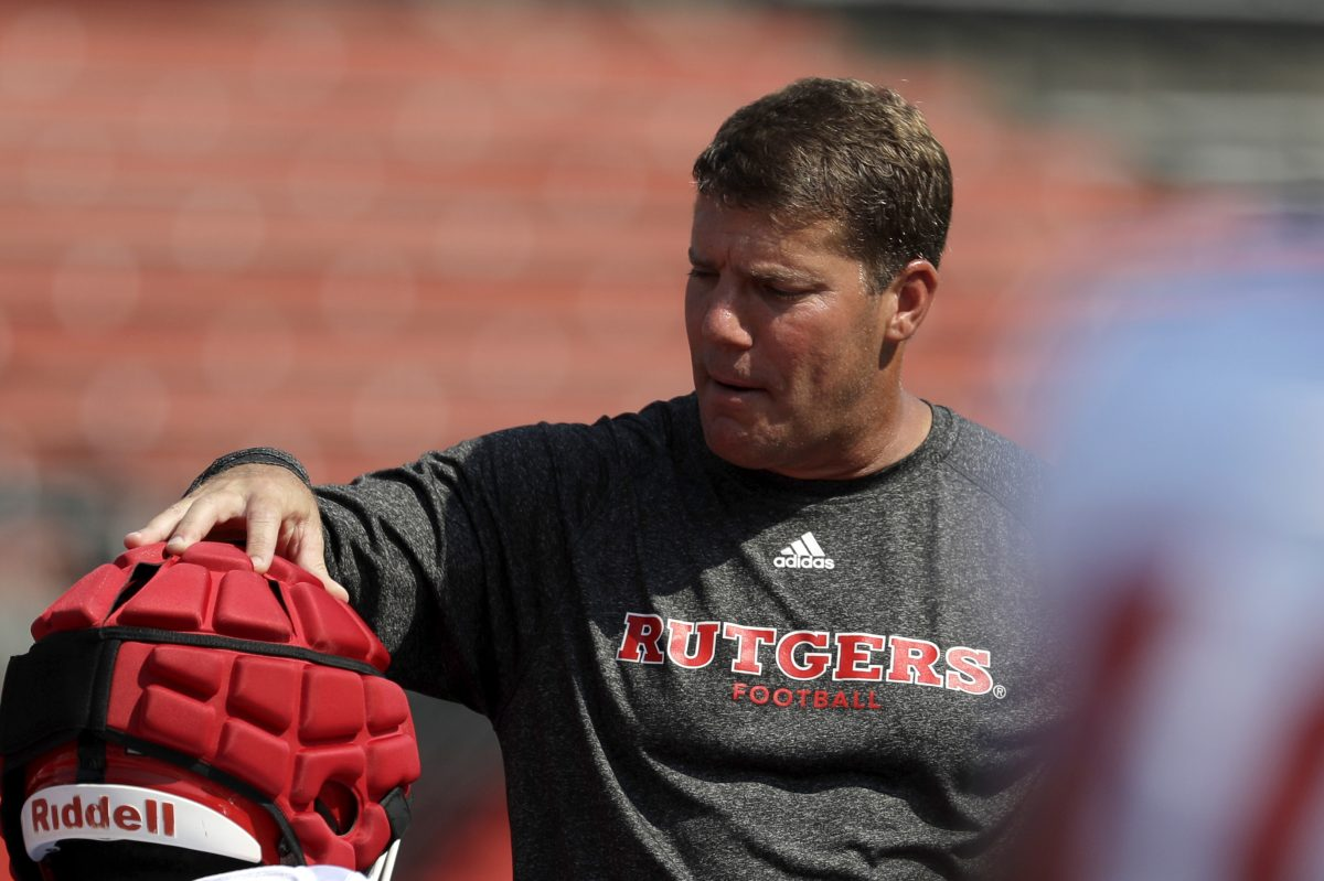 Rutgers head coach Chris Ash coached on the losing end of some embarrassing losses last year. He didn't want to embarrass Morgan State. (AP Photo/Julio Cortez)