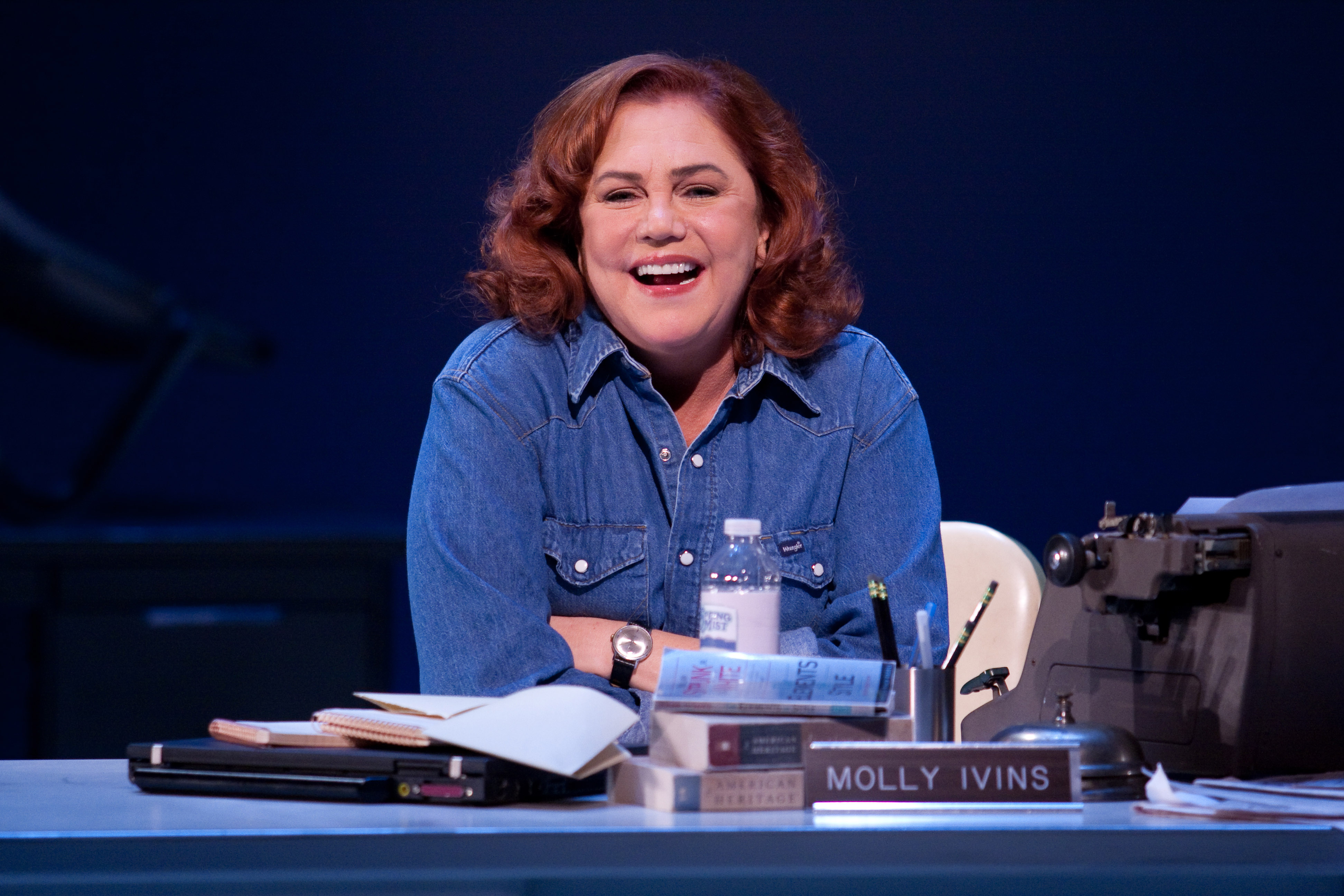 """Kathleen Turner shown here from her 2010 stage show """"Red Hot Patriot"""" at Philadelphia Theatre Company."""