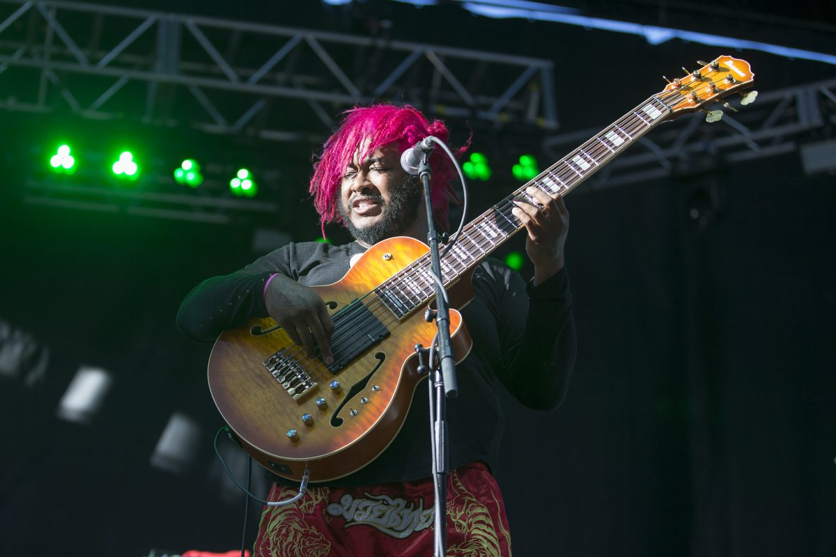 Thundercat, a standout at the 10th annual Roots Picnic  in June, plays at Union Transfer on Sunday.