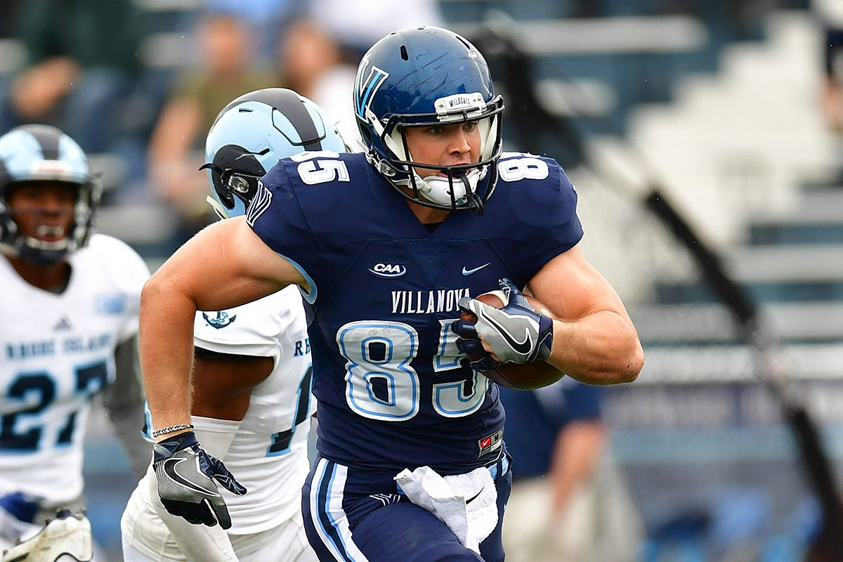 Villanova tight end Ryan Bell.