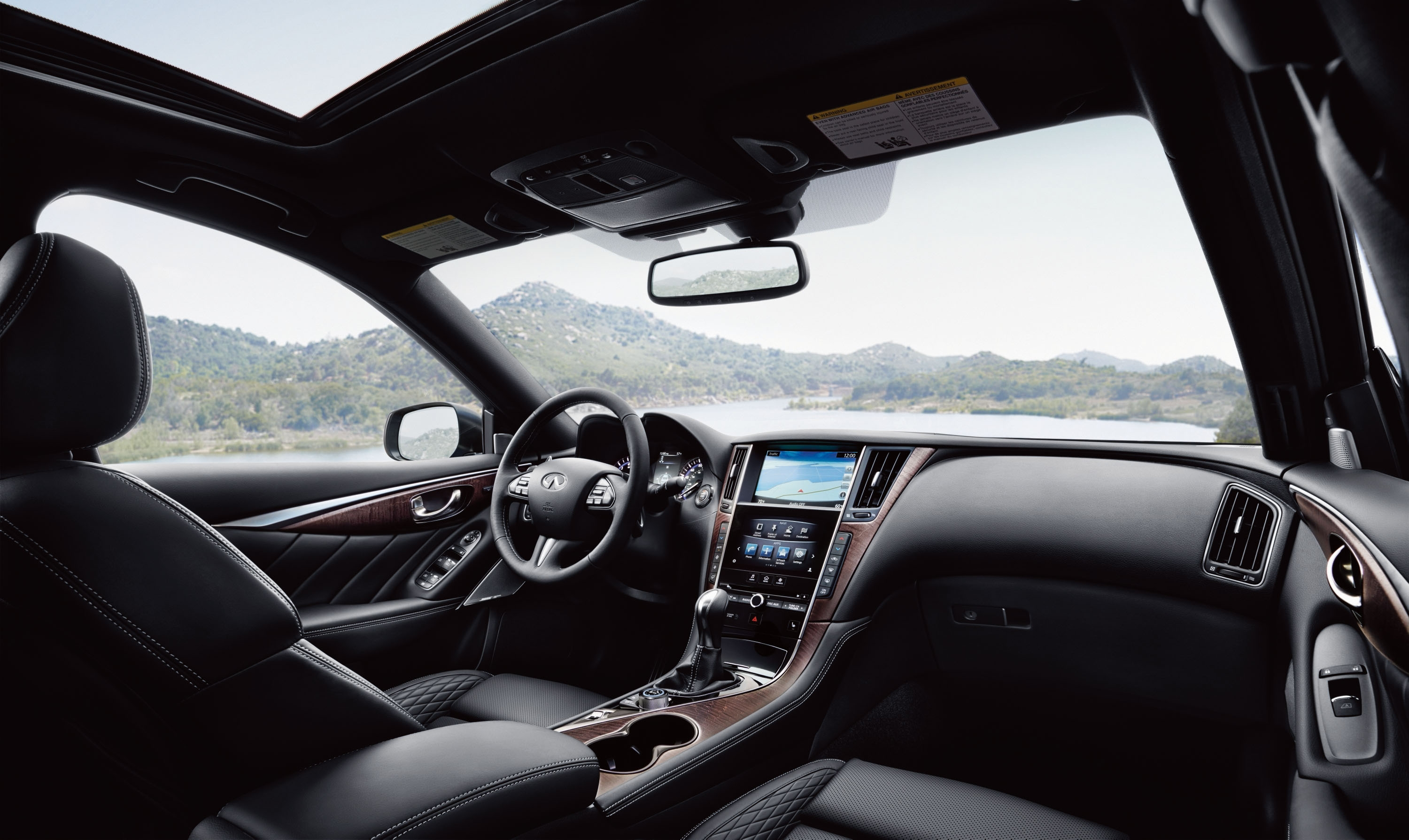 Inside, though, the Q50's space is far smaller than the Q70, but it matches the larger model for beauty and comfort – well, except for rear legroom.