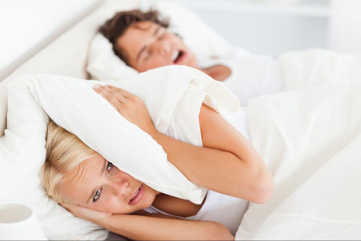 Snoring is often associated with a sleep disorder called obstructive sleep apnea.