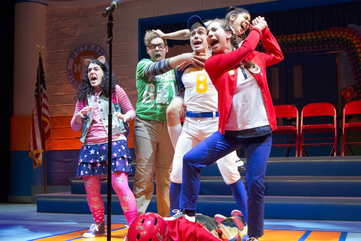 Bristol Riverside Theatre's production of The 25th Annual Putnam County Spelling Bee. (MARK GARVIN)
