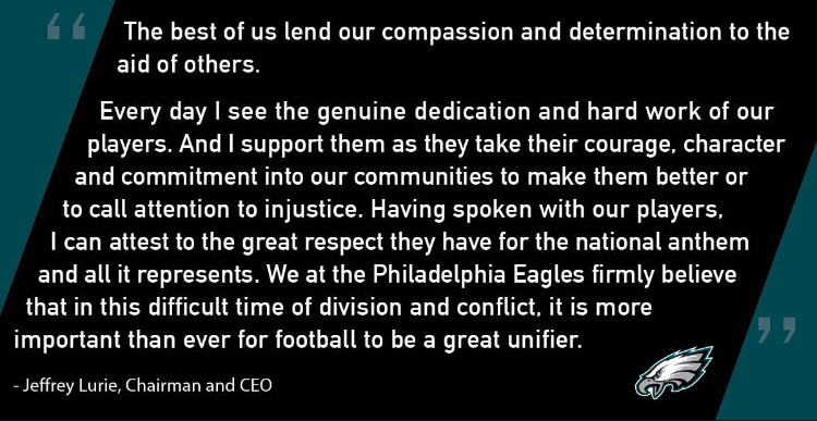 Lurie´s statement.