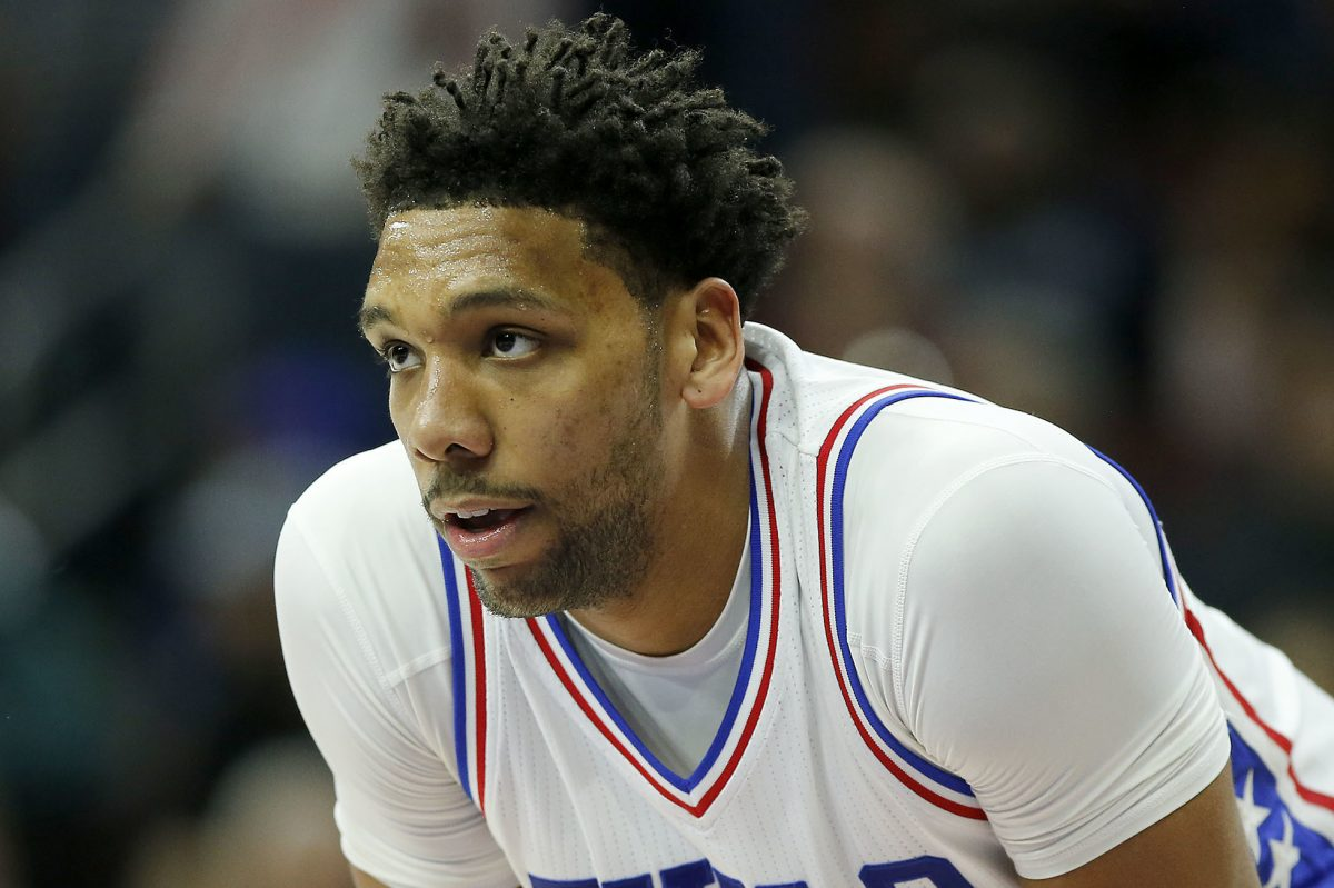 Jahlil Okafor is still limited because of knee soreness.
