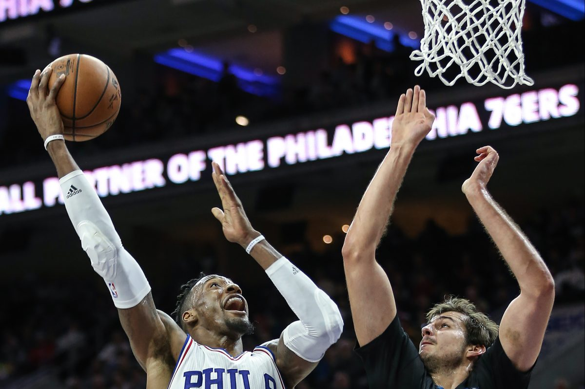 Robert Covington hopes to remain with the Sixers beyond this season.