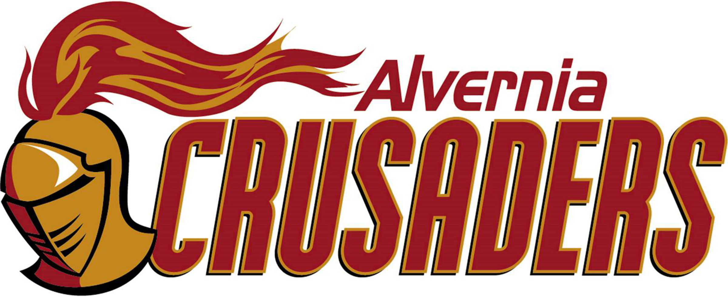 The Alvernia University logo before the school's nickname was changed.