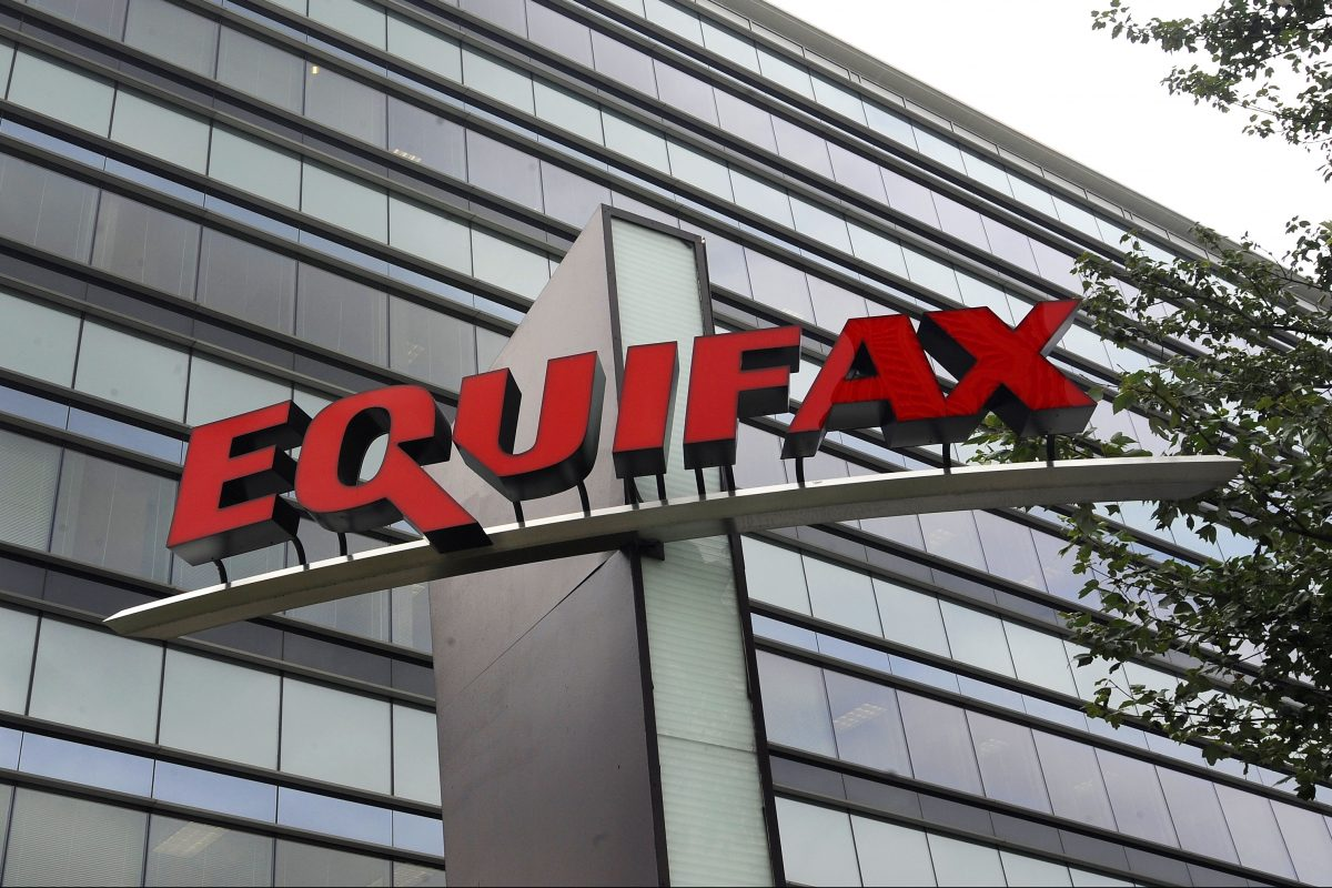 Equifax Inc.'s offices in Atlanta. The company announced Tuesday that CEO Richard Smith would be leaving his post in the wake of the security breach affecting up to 143 million Americans.