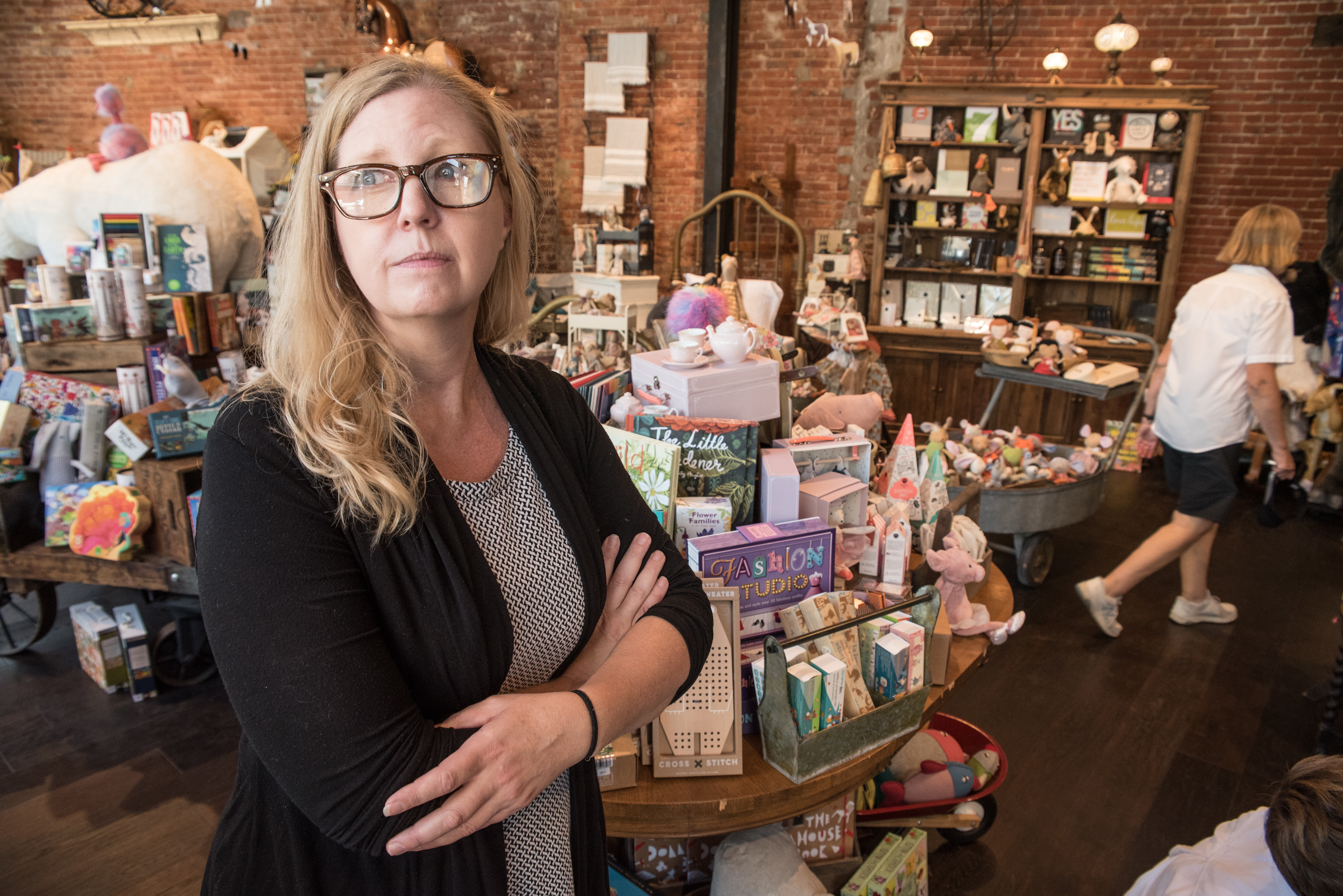 Carrie Kohs owns pucciManuli, an eclectic toy and gift shop in downtown Ardmore. In her other role as activist, she is involved in the revitalization and redevelopment of Ardmore´s business district.