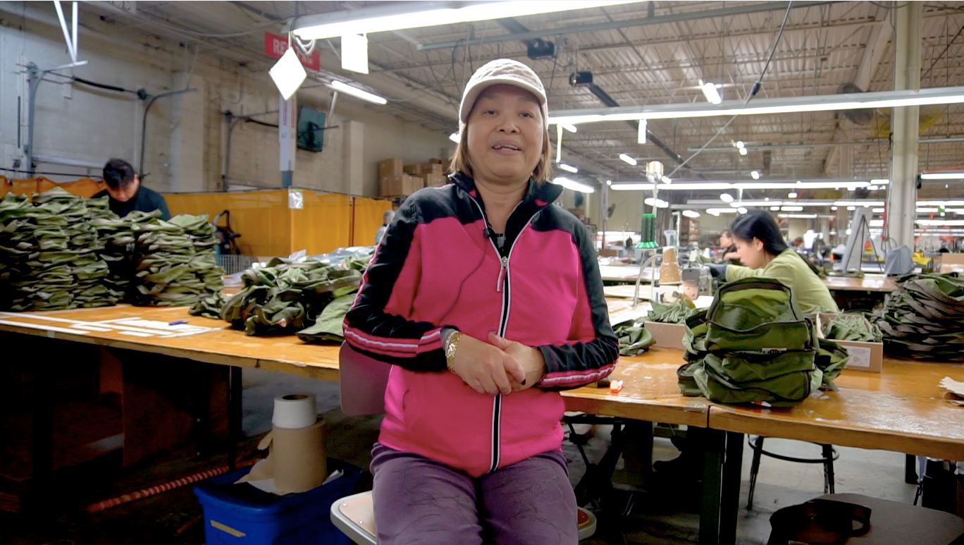 Ann Ho works at Ehmke Manufacturing Co. in Northeast Philadelphia.