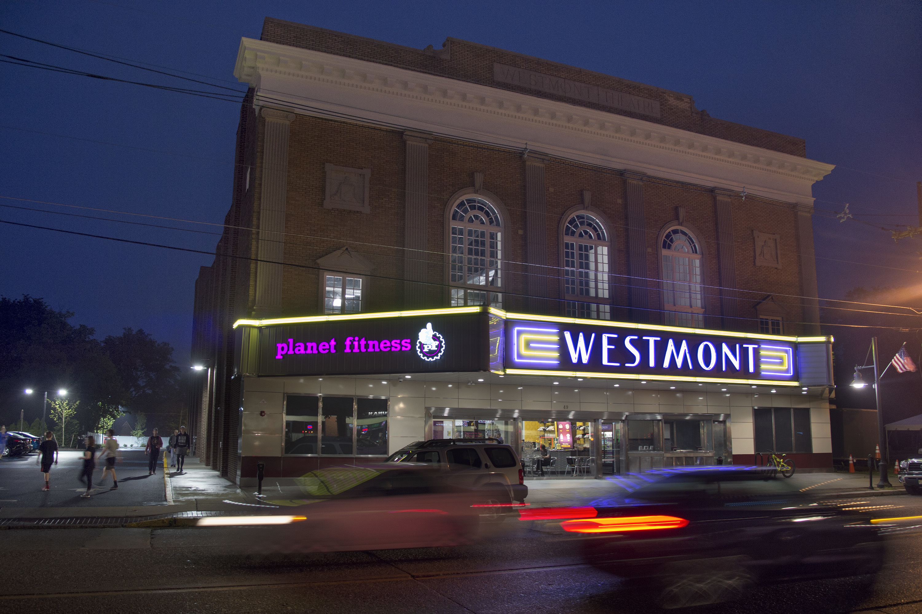 The former Westmont Theater on Haddon Avenue in Haddon Township May 30, 2017 is now a 24/7 Planet Fitness.