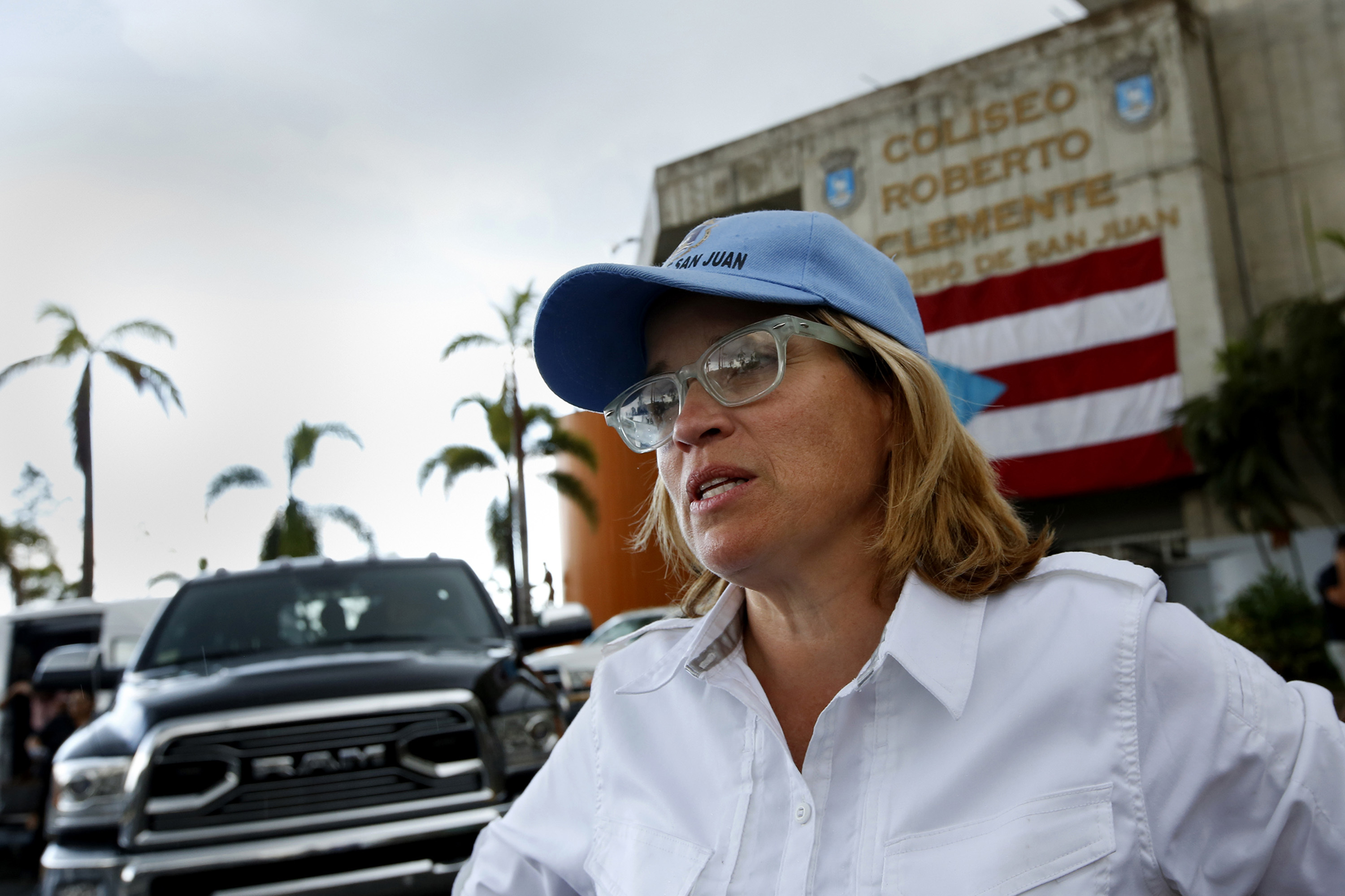San Juan mayor Carmen Yulin Cruz.
