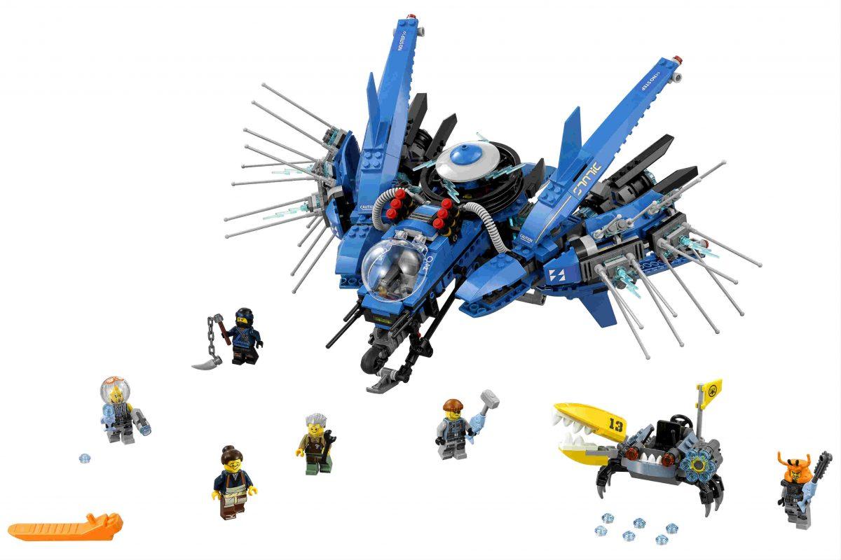 "A LEGO set for the ""Ninjago"" movie."