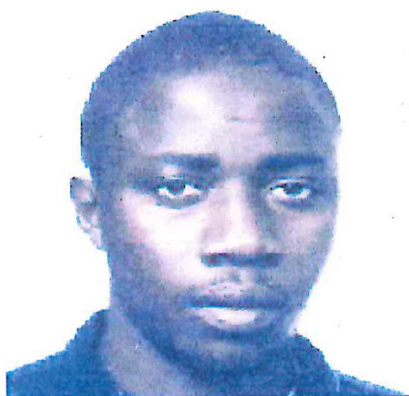 Mohammed Jabateh pictured in a photo submitted with his immigration applications to the United States.