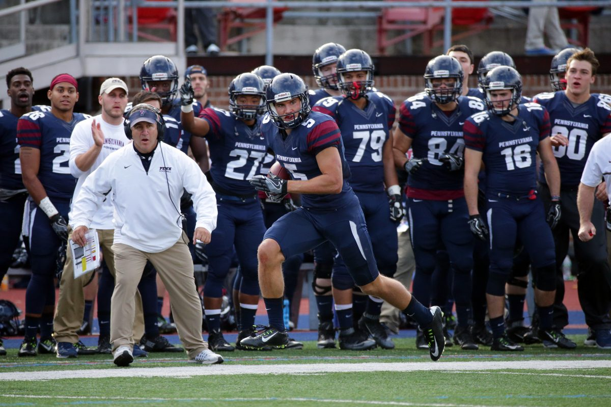 Penn's football teams aims two non-league road games in a season for the first time since 1993.