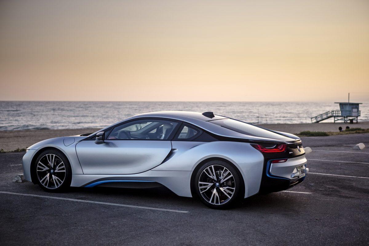 The 2017 BMW i8.