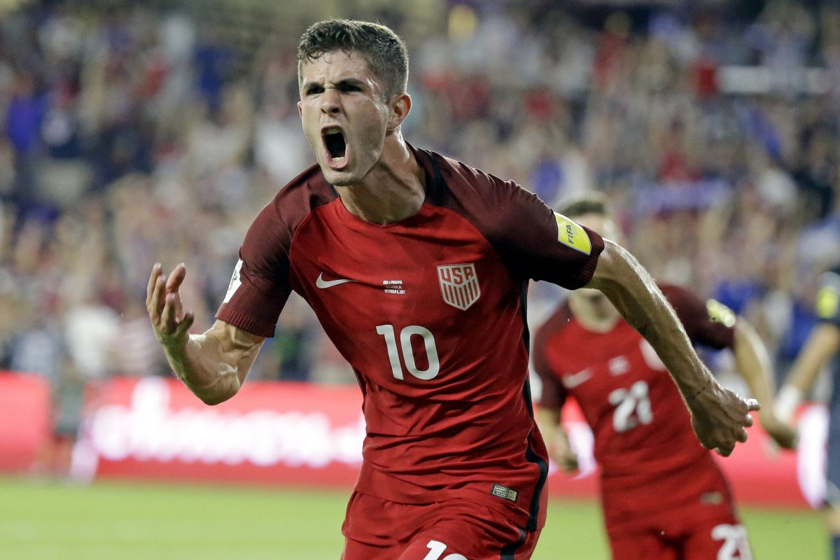 Hershey native Christian Pulisic had six goals and four assists in nine games for the national team in 2017, and was involved in 13 of the 17 American goals in games in which he played.