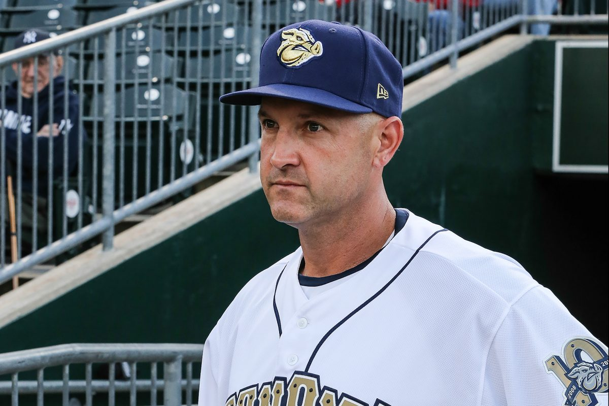 Dusty Wathan managed at triple-A Lehigh Valley in 2017, his 10th season as a minor-league manager in the Phillies' organization.