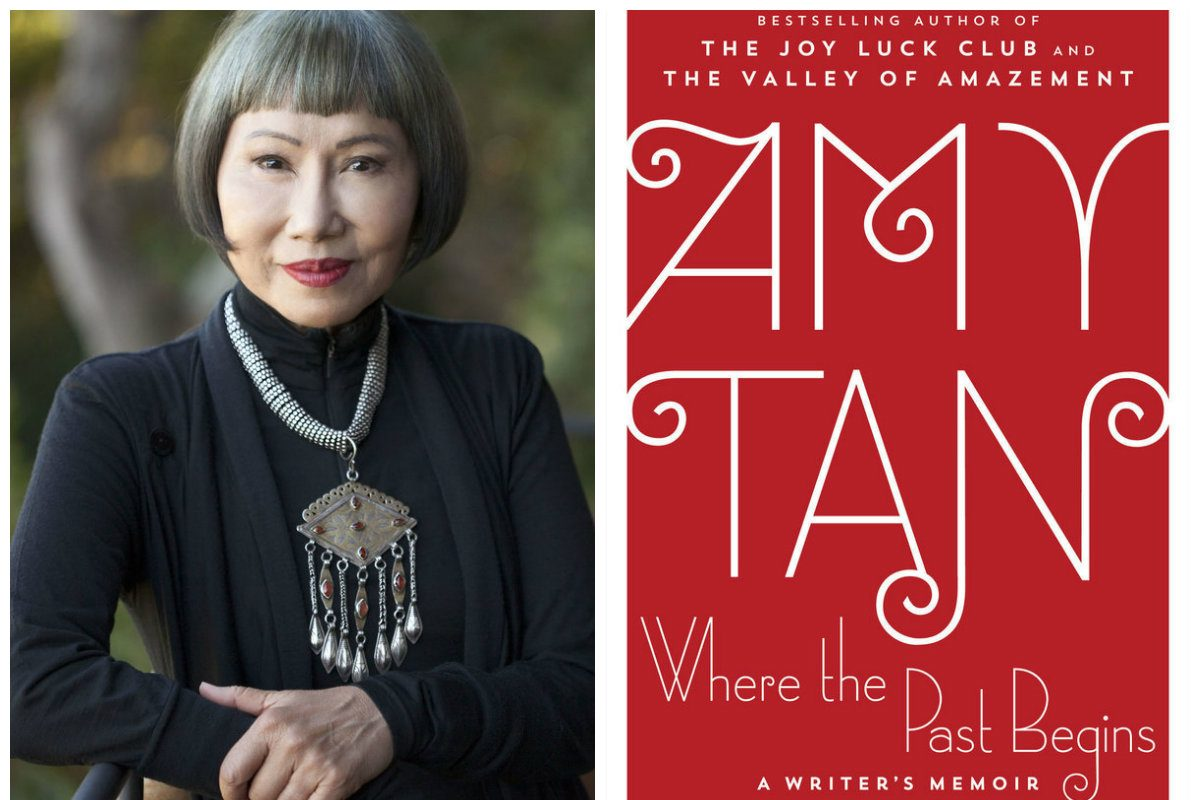 "Amy Tan will discuss her new book, ""Where The Past Begins,"" at the Free Library on Tuesday."