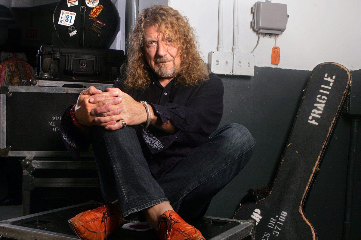 "Robert Plant has a new album, ""Carry Fire."""