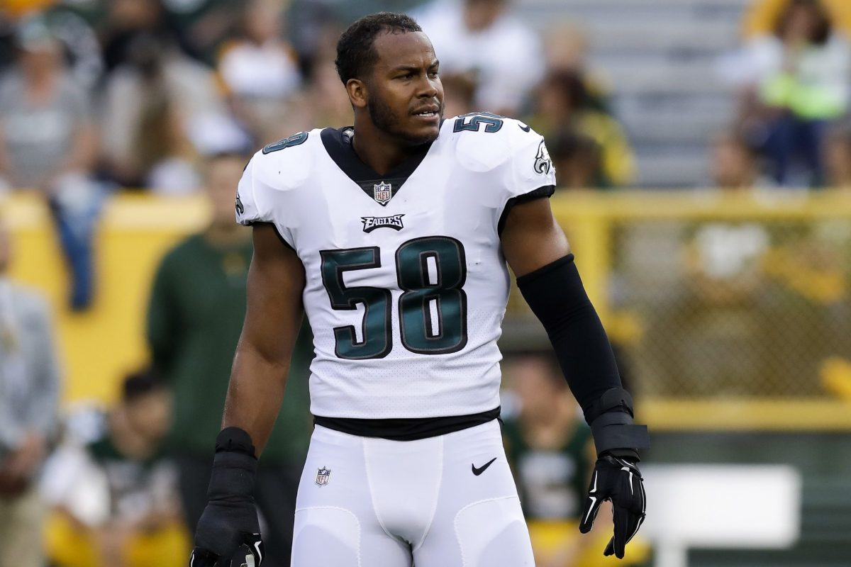 Eagles LB Jordan Hicks says he's playing vs. Washington