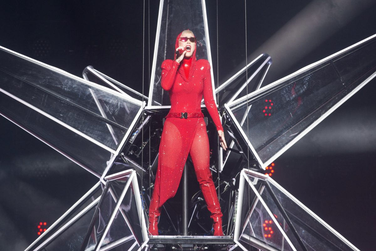 "Katy Perry performing in her massive show  ""Witness: The Tour"" in Montreal in September."