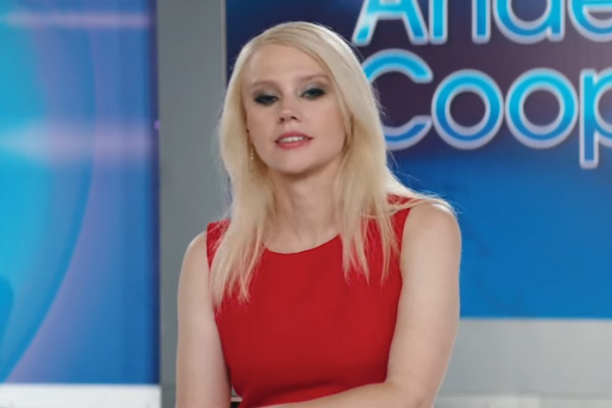 """""""Saturday Night Live´""""cast member Kate McKinnon.  During a skit on Saturday night's show, she reprised her role as White House counselor Kellyanne Conway."""