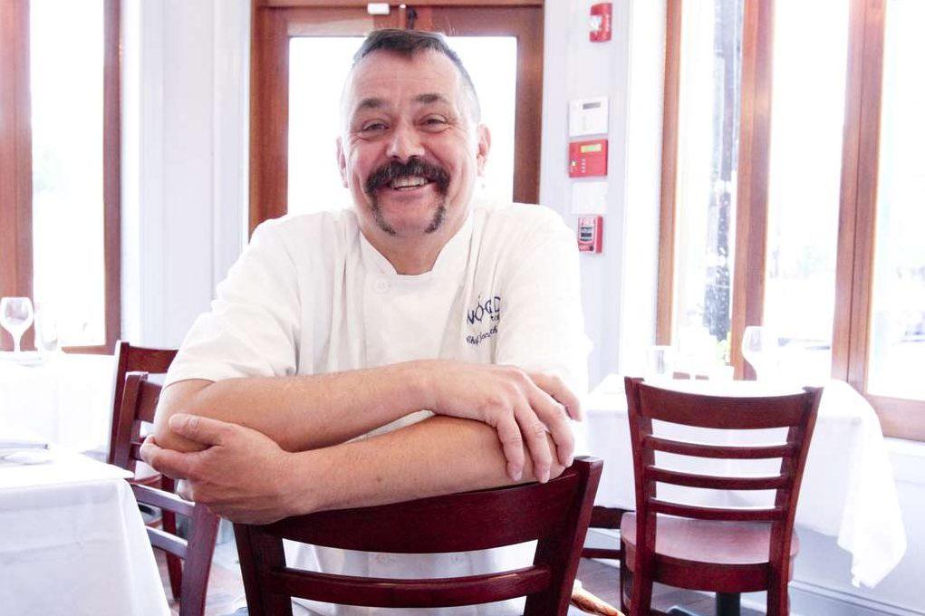 Chef Joncarl Lachman at Noord, 1046 E. Tasker St., Philadelphia, August 1, 2013. ( DAVID M WARREN / Staff Photographer )