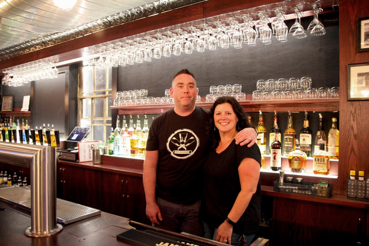 Owners David and Heather Garry at Good Dog Bar, 224 S. 15th St.
