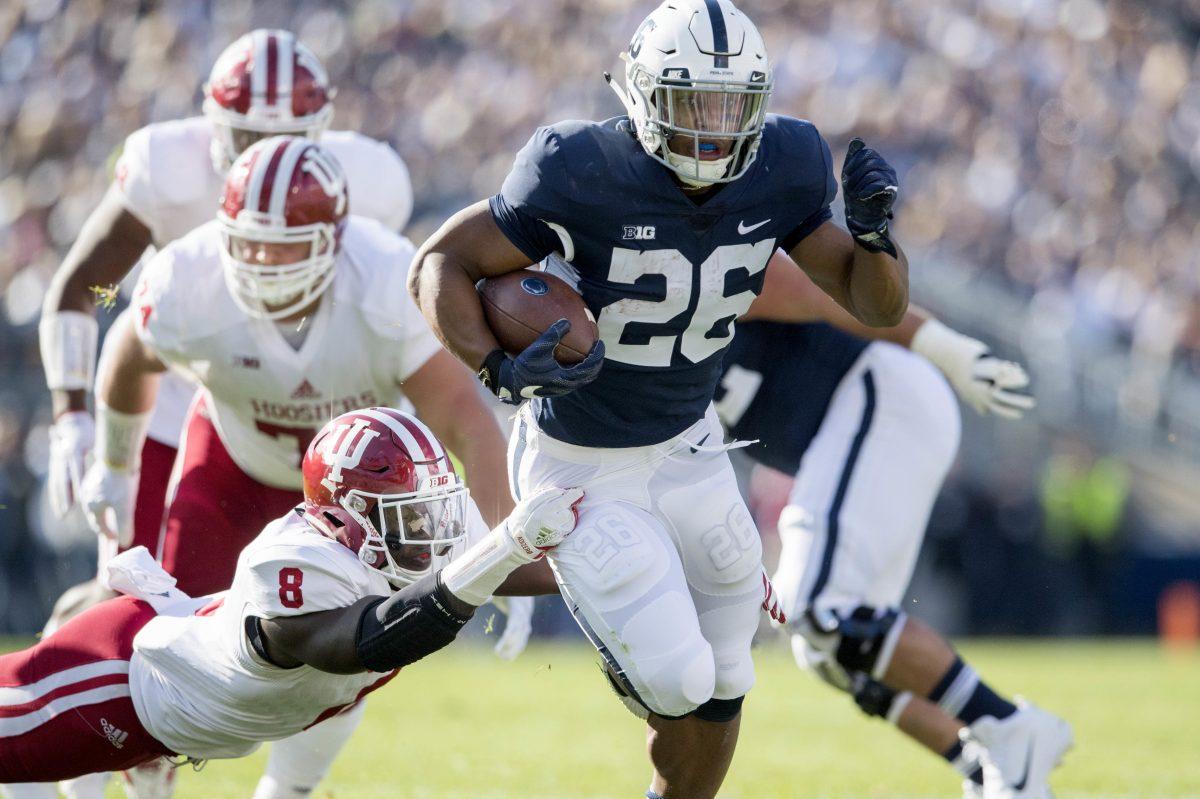 Penn State's Saquon Barkley.