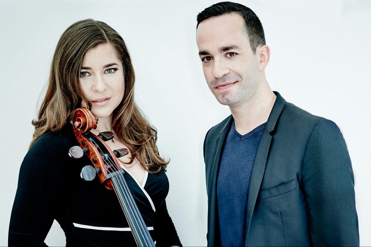 Cellist Alisa Weilerstein and pianist Inon Barnatan performed Monday night at the Perelman Theater.