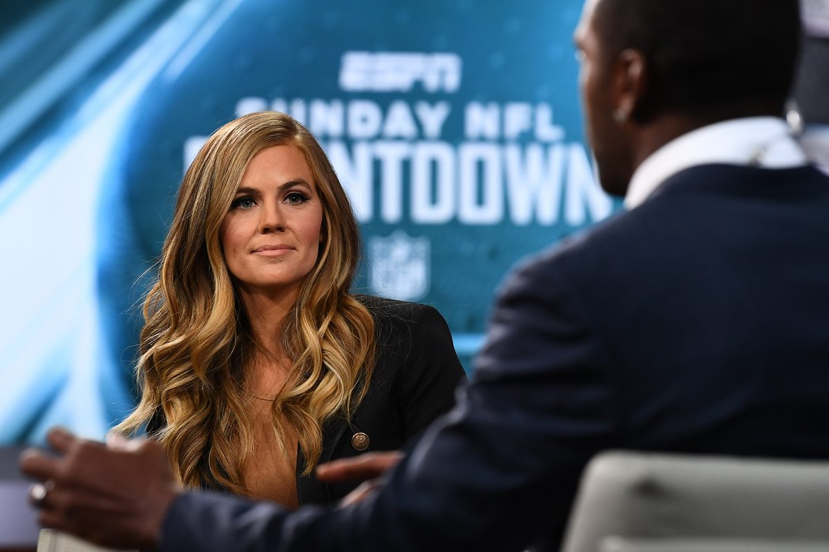Sunday NFL Countdown host Sam Ponder has a problem with ESPN's partnership with Barstool Sports.
