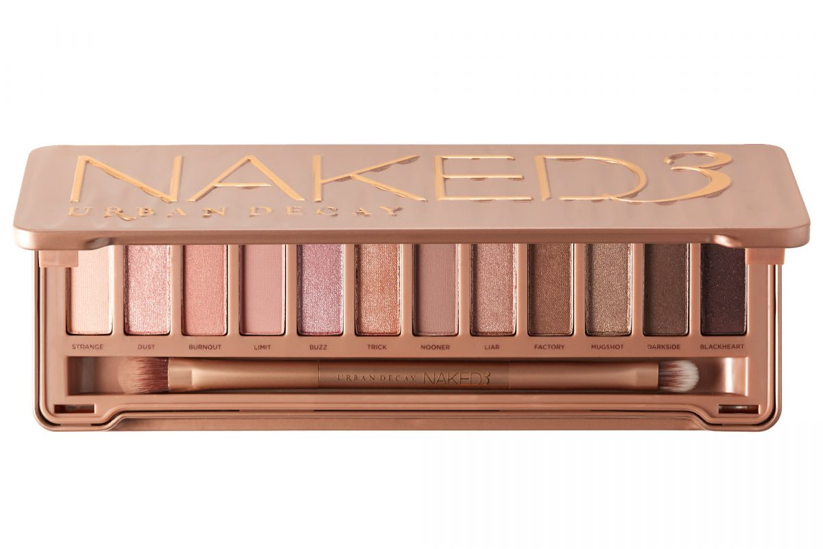 The Urban Decay Naked 3 Palette.
