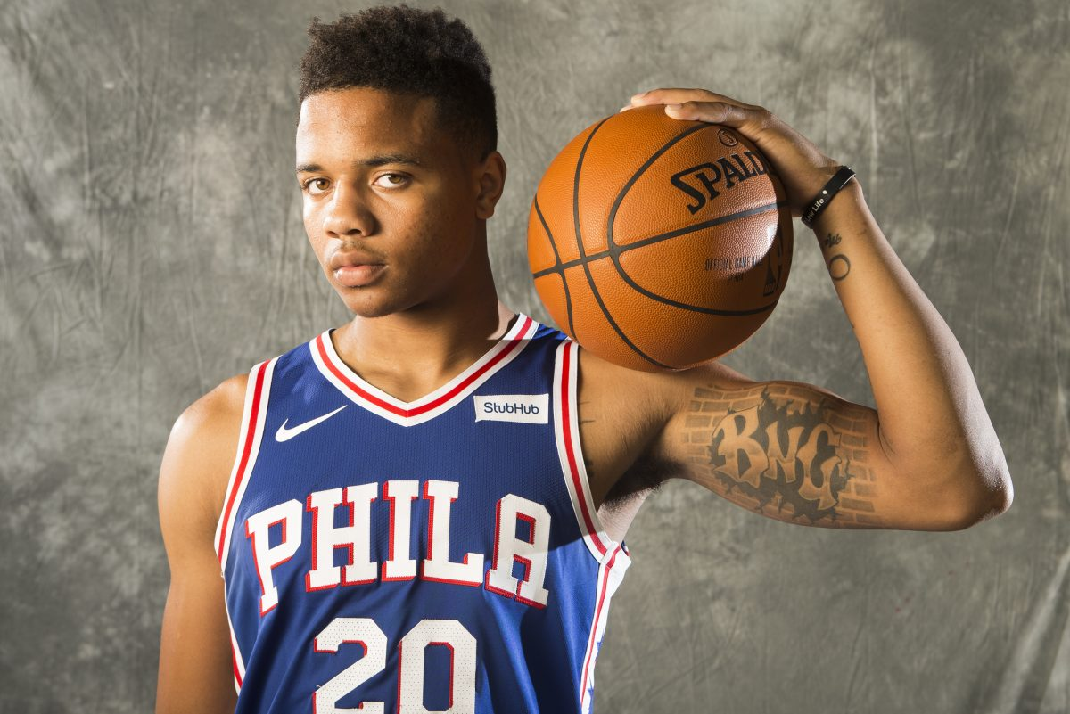 Markelle Fultz will come off the bench in his first game for the 76ers.