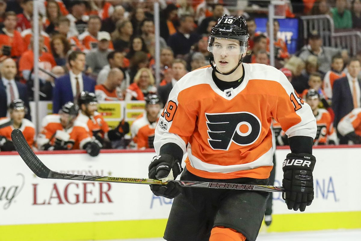 Flyers rookie Nolan Patrick had a gorgeous assist in Tuesday's win over Florida. YONG KIM / Staff Photographer