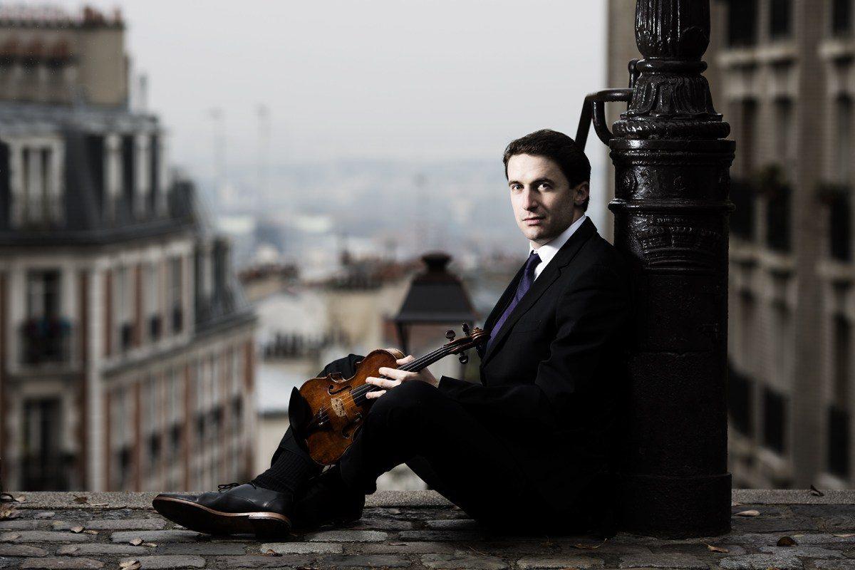 Violinist Noah Bendix-Balgley.