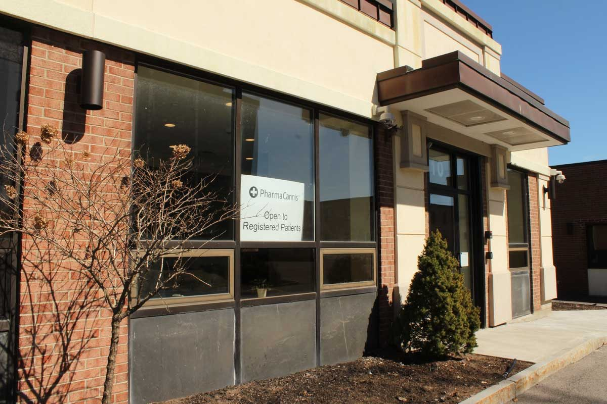 A PharmaCann medical marijuana dispensary in Albany, N.Y. The company plans on opening a dispensary near Philadelphia Mills Mall (formerly Franklin Mills).