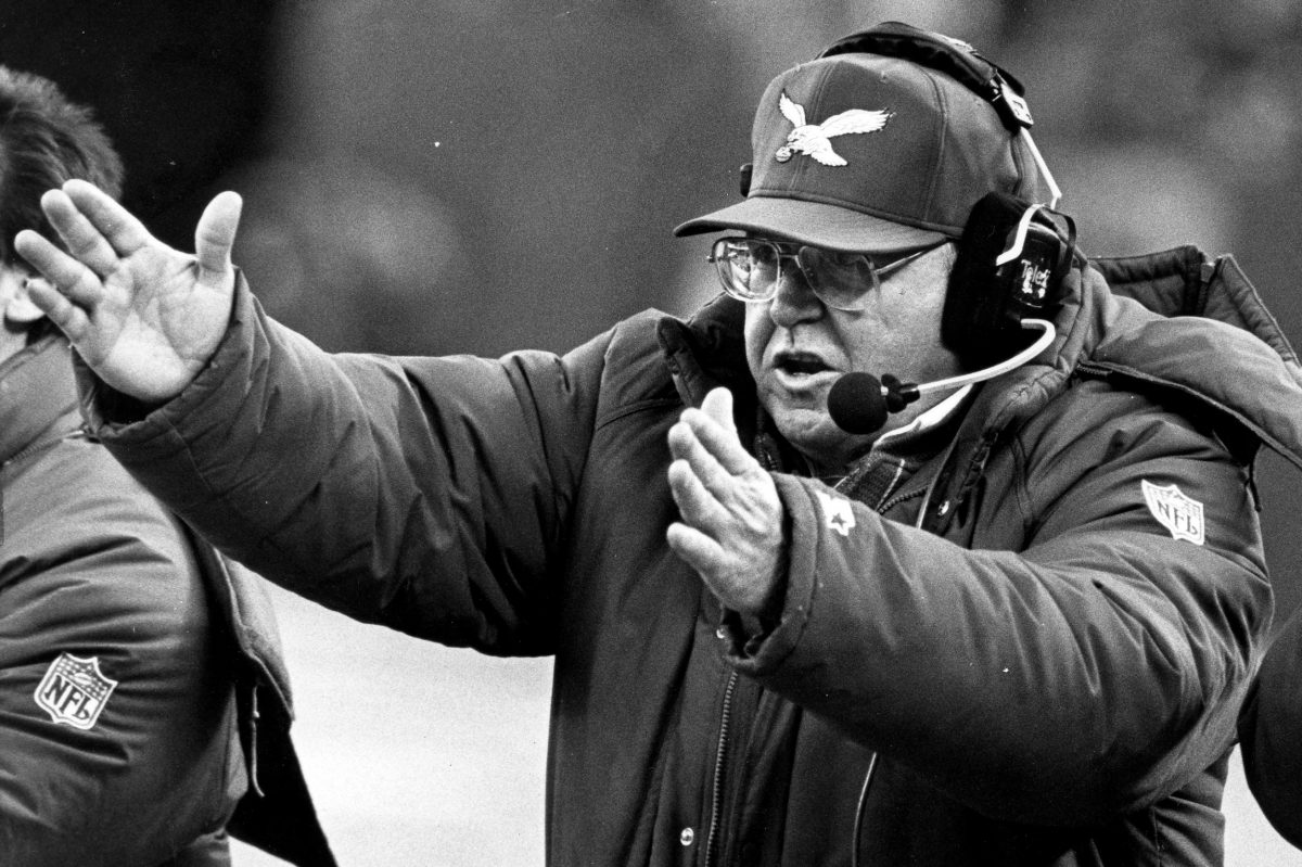 The Eagles' rivalry with Washington was most heated during Buddy Ryan's tenure as Eagles coach.