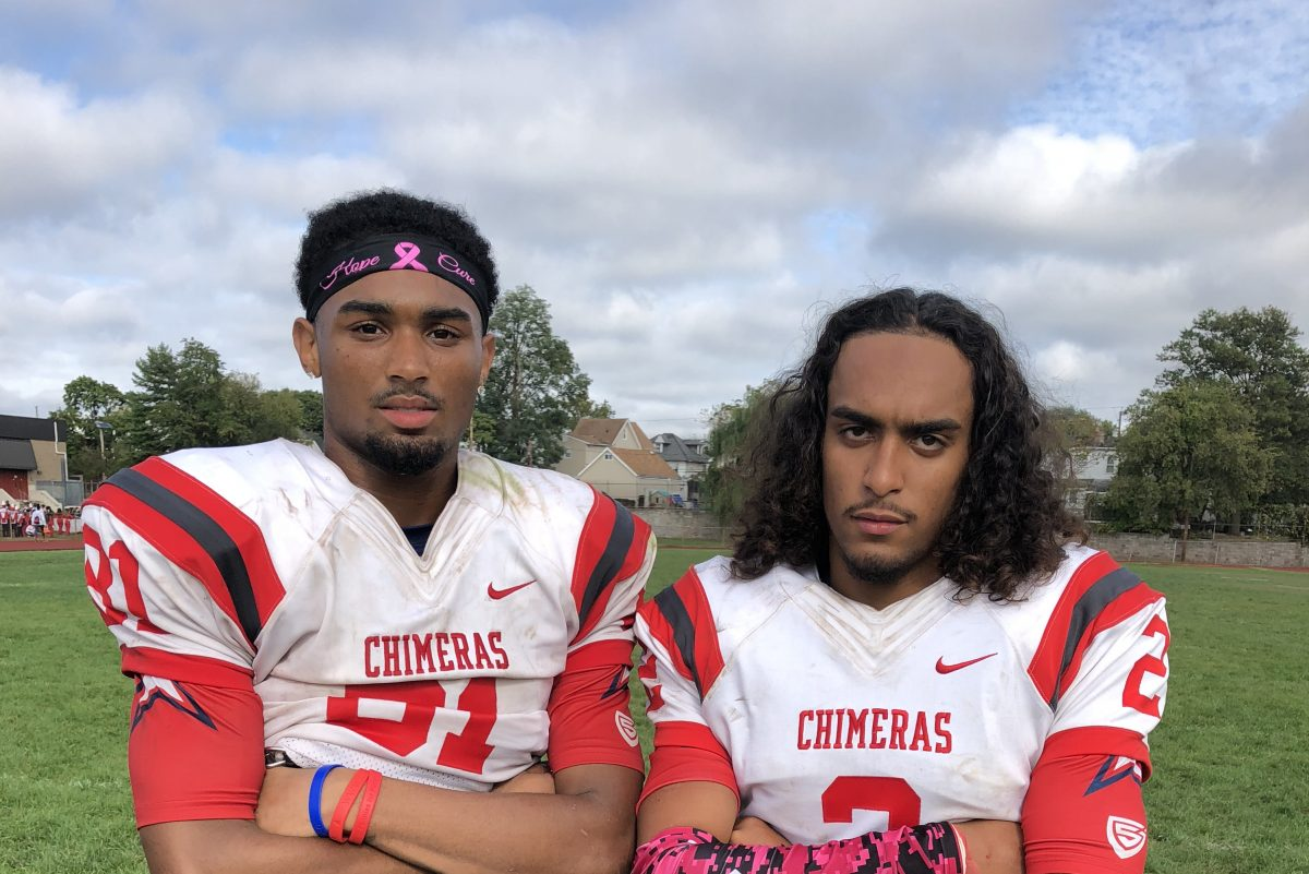 Willingboro seniors  David Green (left) and Trae Greene have led the team on a four-game winning streak.