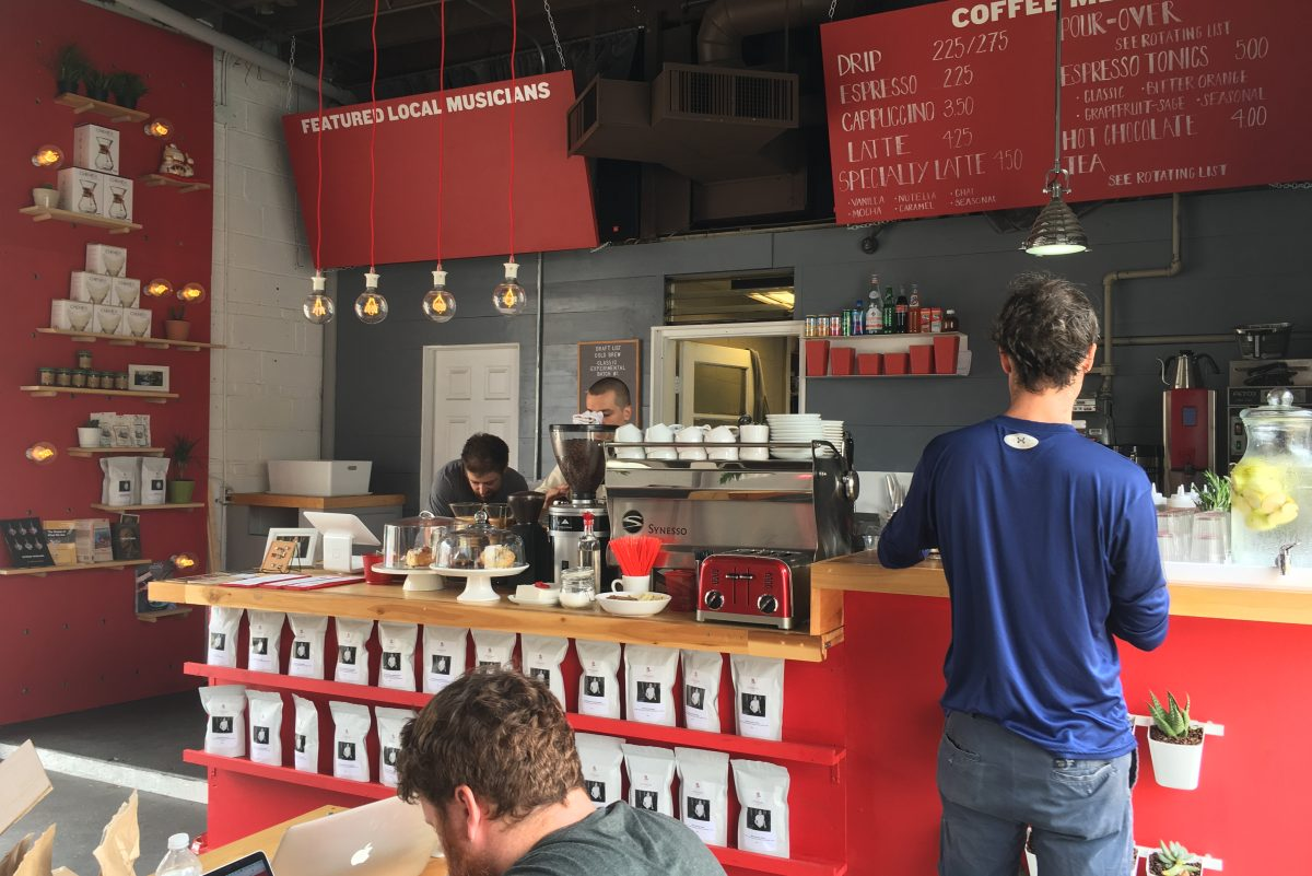 Herman's Coffee is a newcomer to the scene at 1313 S. Third St.