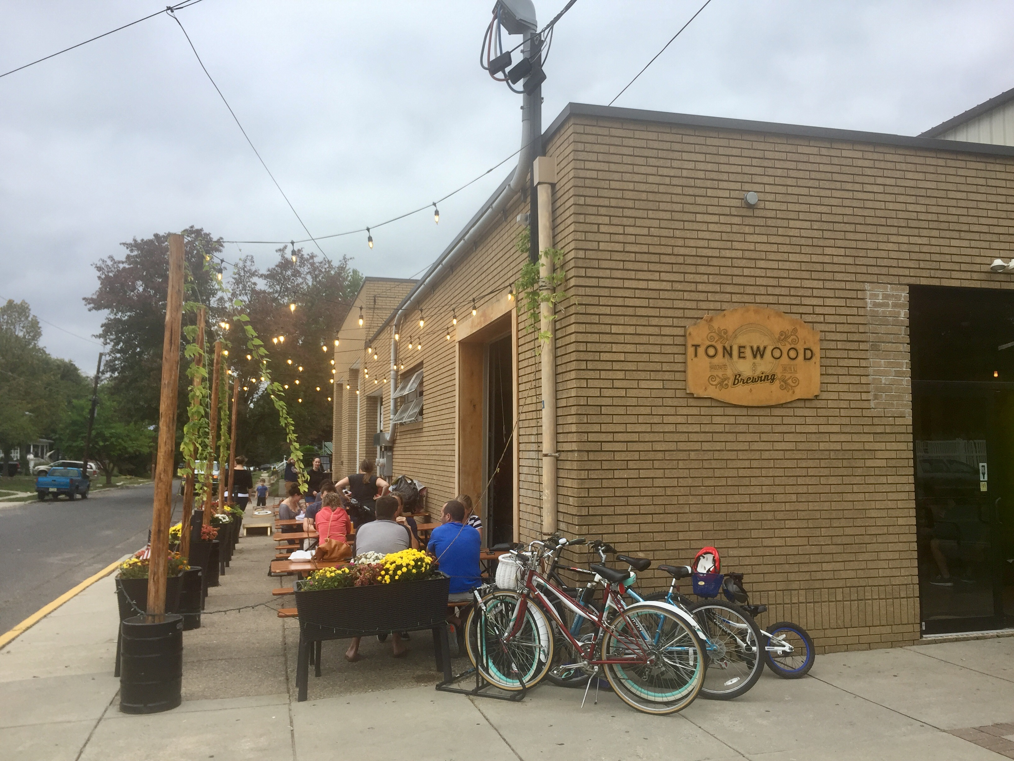 Tonewood Brewing in downtown Oaklyn, N.J.
