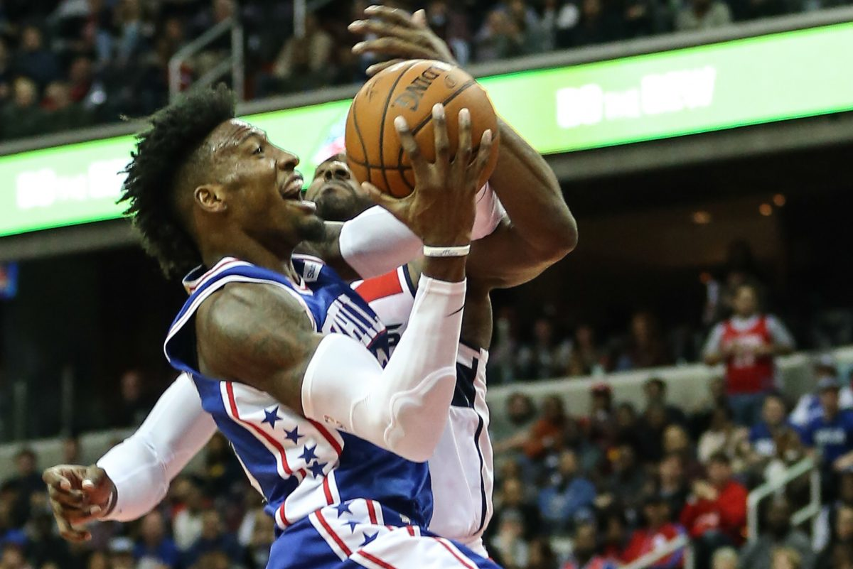 Robert Covington led all scorers with 29 points in Sixers' opener.