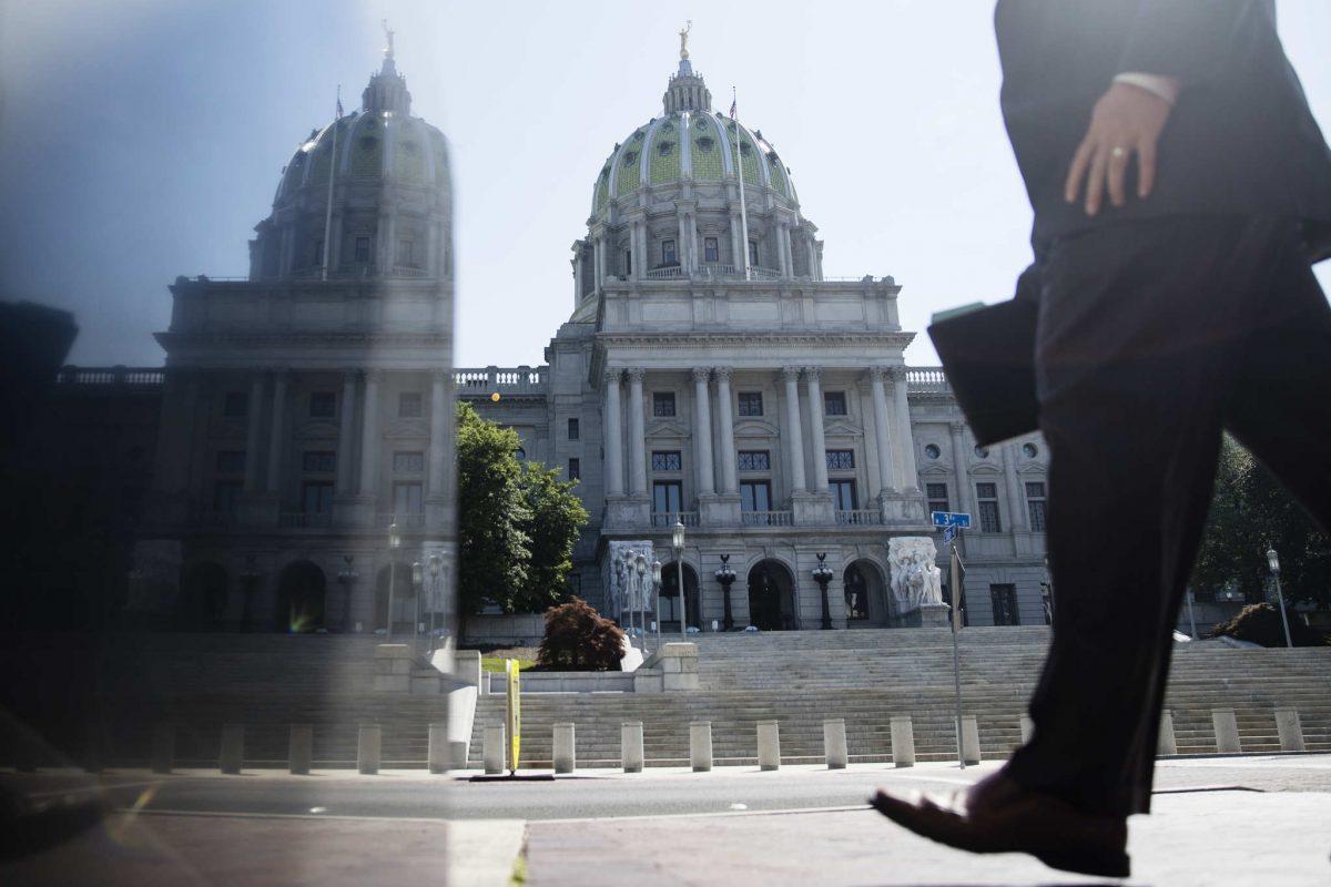 FILE / Pennsylvania Capitol building in Harrisburg.