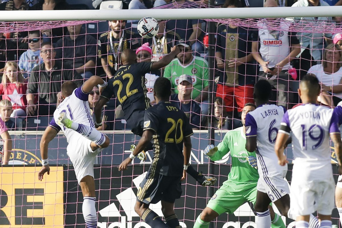 Fafa Picault scored two goals in the Philadelphia Union's 6-1 win over Orlando City.