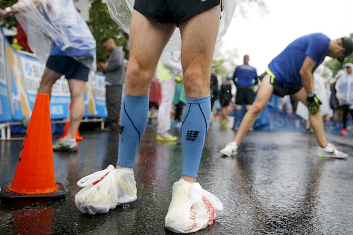 The popularity of wearing compression socks has increased among endurance athletes who hope for a performance boost and quicker recovery.